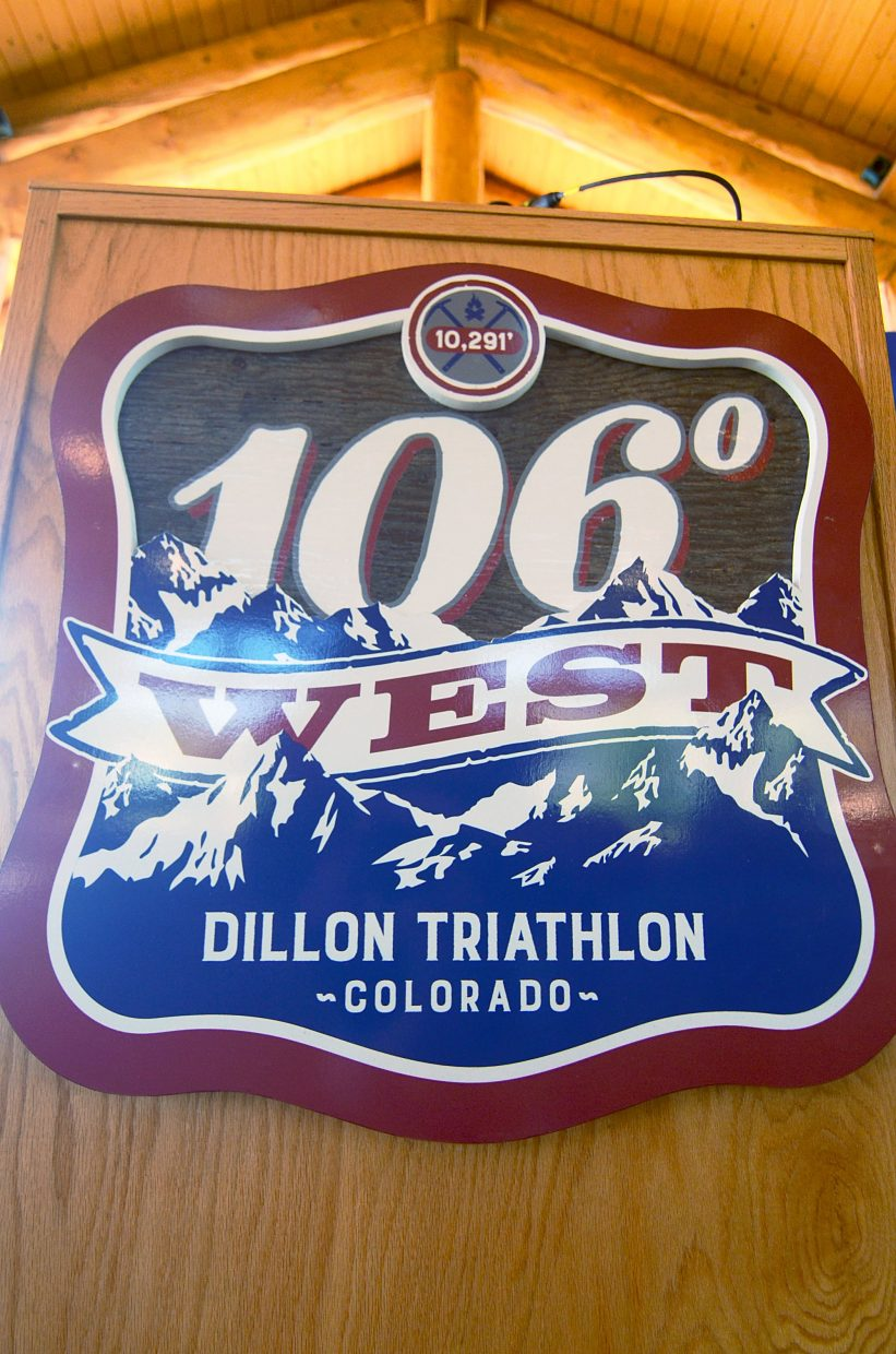 The new 106 West Triathlon debuts on Sept. 10, with a half-Ironman course and the first-ever triathlon swim on Lake Dillon.
