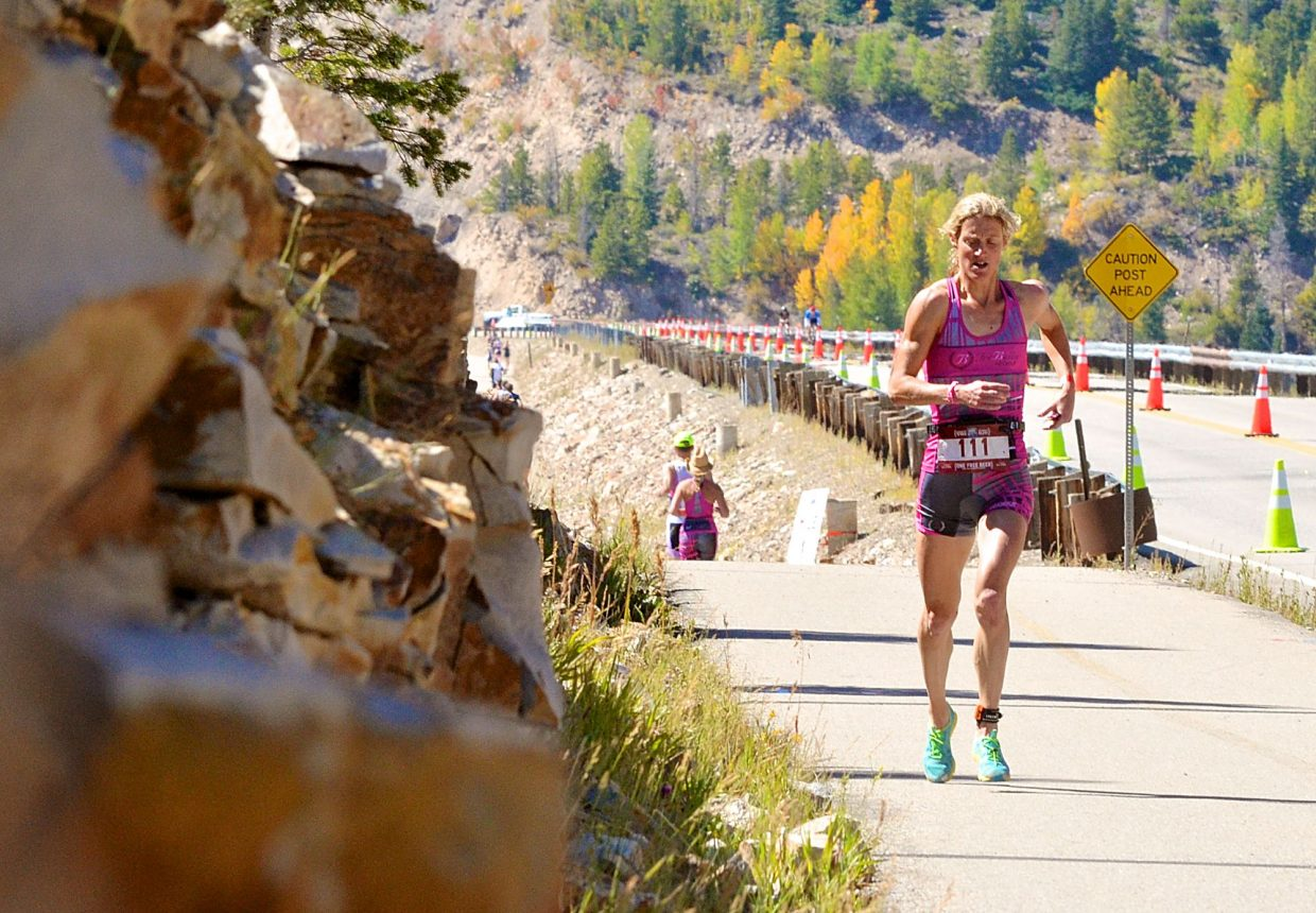 Scenes from the debut 106 West Traithlon, the first-ever half-Ironman held in Summit County and the only event with an open-water swim on Dillon Reservoir. More than 700 athletes from across the nation came to Dillon Marina for the 70.3-mile race on Sept. 10.