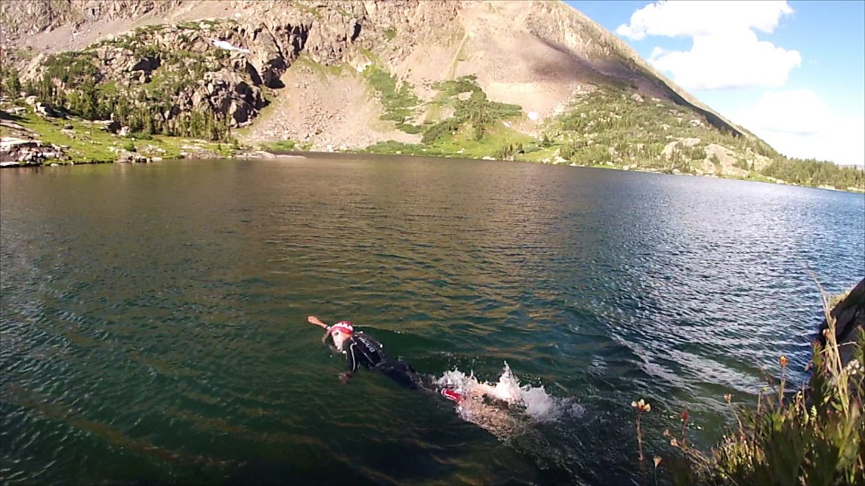 There are accessible swim spots near the trail at Missouri Lakes and a variety of rocks to cautiously jump from.