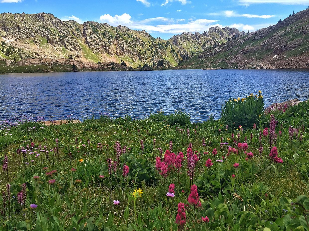 Jon Kedrowski | Special to the WeeklyBooth Lake is the ultimate reward for those who can tolerate a difficult, steep hike with robust elevation gain.