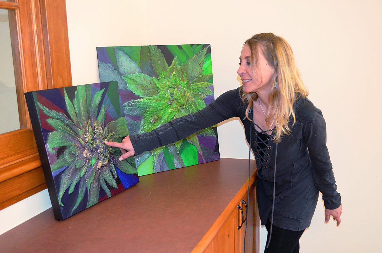 Image result for creating art cannabis