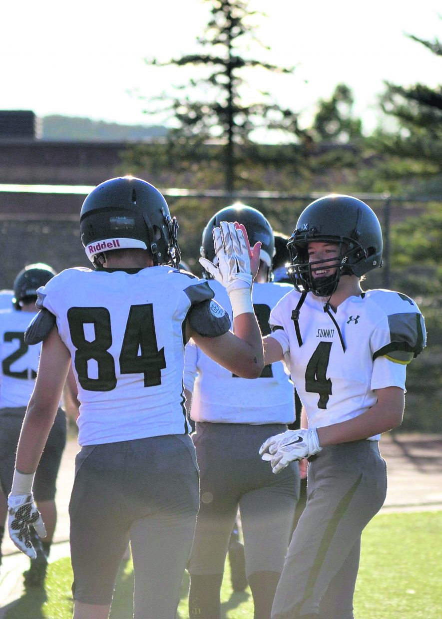 The Summit Tigers took on the Steamboat Springs Sailors on Sept. 2 for an away football game at Steamboat. The Tigers won, 35-7, to go 2-0 overall on the season.