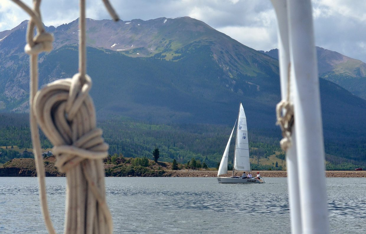 Scenes from the first day of racing (aka waiting for the wind) at the 2016 Dillon Open Regatta on Lake Dillon. The Dillon Yacht Club held rescheduled keelboat racers on Aug. 20-21 and were finally blessed with wind.