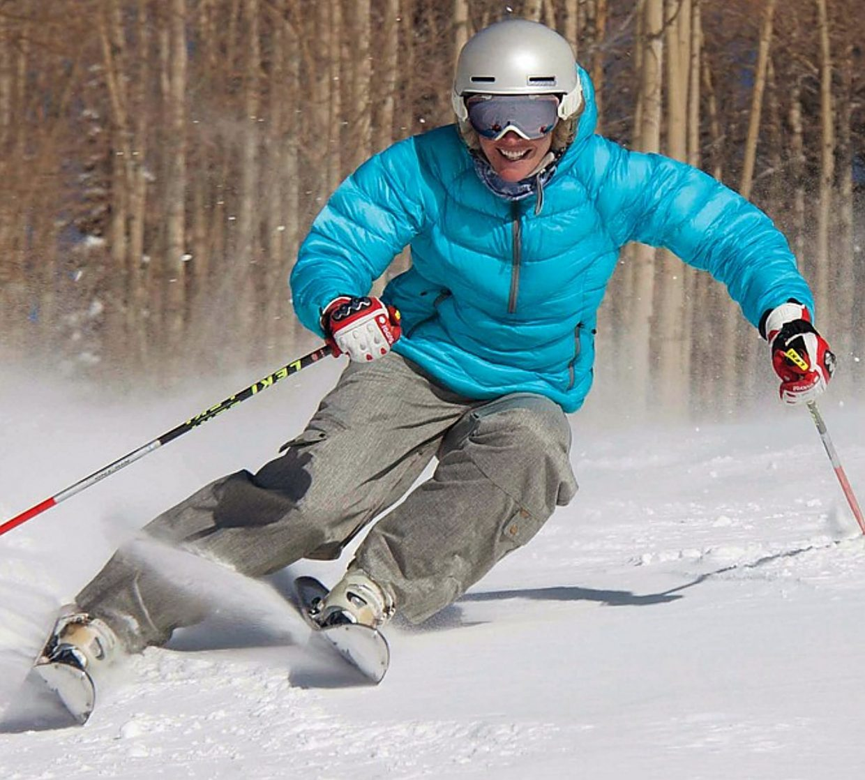Caroline Lalive Carmichael, a California native who spent 13 years on the U.S. Ski Team after moving to Steamboat Springs.