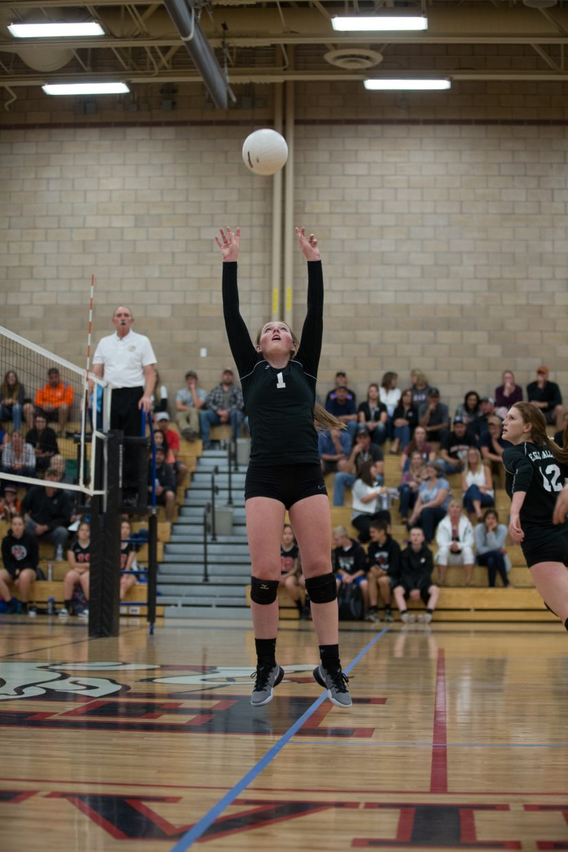 Eagle Valley's Molly Jewett keeps the Devils' attack humming against Summit County. The Devils won and are 3-0 in the 4A Slope with Palisade coming to town next week.