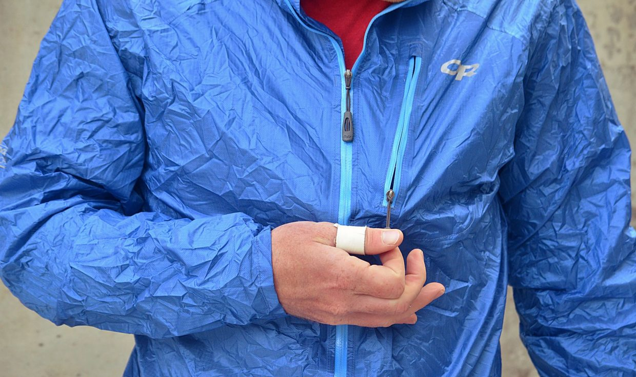 official photos bad92 143a8 High Gear: Outdoor Research Helium II rain shell jacket ...