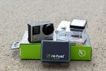The Re-Fuel 6-hour Action Pack battery for GoPro Hero 4 and 3+.