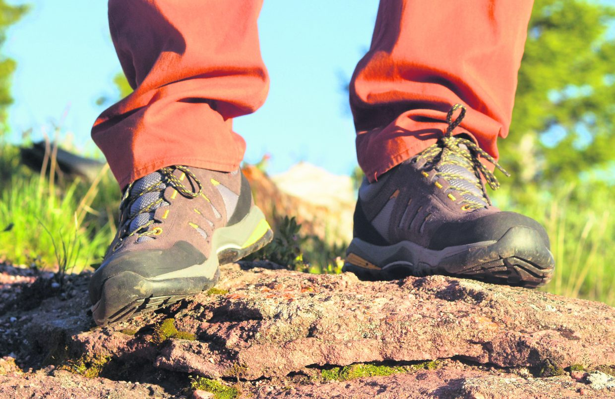 The Moraine GTX hiking shoe from Scarpa.