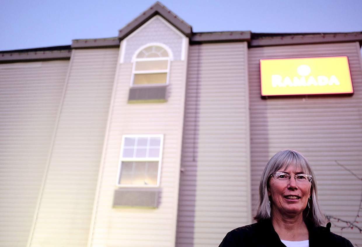 Kathy Reeder has been a nurse at St. Anthony Summit Medical Center for 16 years. She lives in Granby, but stays at the Ramada Inn during her work week to avoid the three-hour commute.