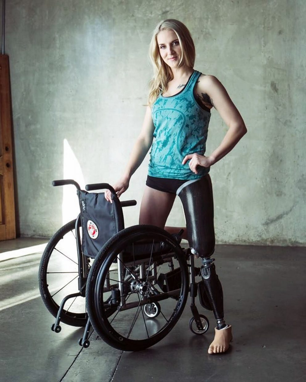 Former Marine Corps Sgt. Kirstie Ennis suffered numerous injuries while serving in Afghanistan in June 2012 — her second tour. Ennis, who eventually had to have part of her left leg amputated, is ranked eighth in the world in women's snowboard cross by the International Paralympic Committee.