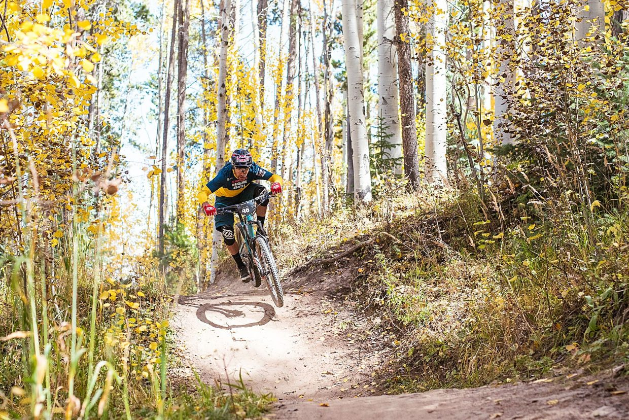 Enduro specialist Nate Hills, of Dillon, took second at last year's Outlier enduro. This year, he'll look to snag another podium during the three-stage race.