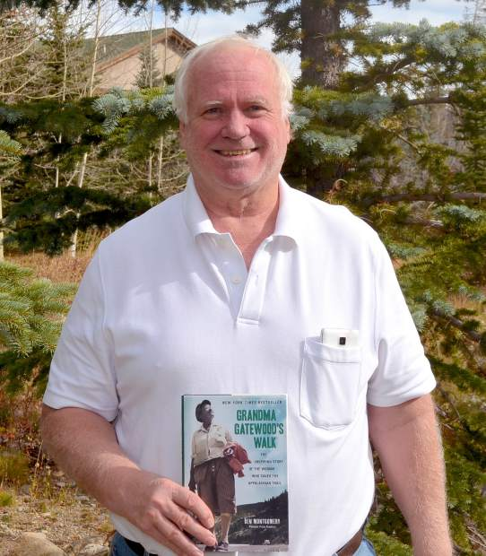 """Longtime Summit local Tom """"Rocky"""" Ruetenik with a copy of"""