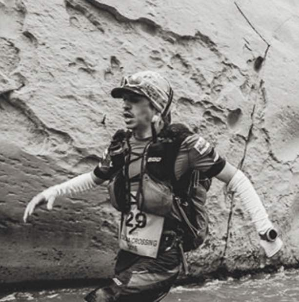 Part-time Summit local Ben Dame on the trail at the Atacama Crossing, a seven-day, 250-kilometer solo race through the Atacama Desert in Chile at 10,0000-plus vertical feet. Dame finished third overall in 30 hours, 21 minutes and 35 seconds.