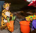 A trick-or-treater collects candy on Frisco's Main Street. This year's Trick-or-Treat on Frisco Main Street is Monday, Oct. 31 from 6–8 p.m.