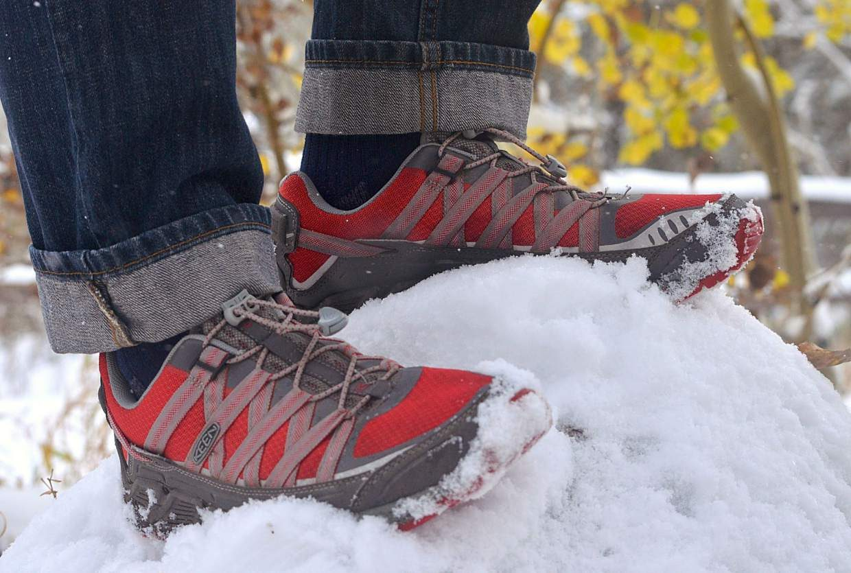 The KEEN Versatrail men's hiking shoe.