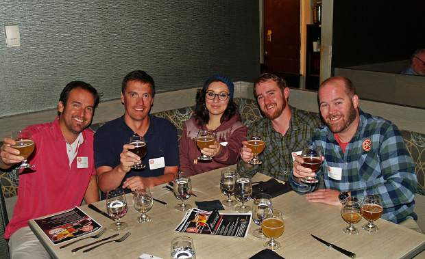 The Breckenridge Brewery and Blue River Bistro teamed up for a beer pairing dinner to raise funds for the National Repertory Orchestra on Tuesday, Oct. 18, 2016.