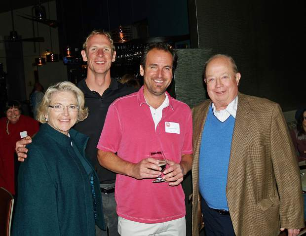 Barbara Calvin, Jay Beckerman, Jimmy Walker and Jim Calvin.