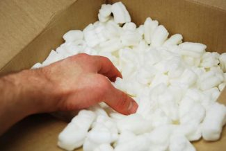 Ask Eartha: What should I do with compostable packing peanuts?