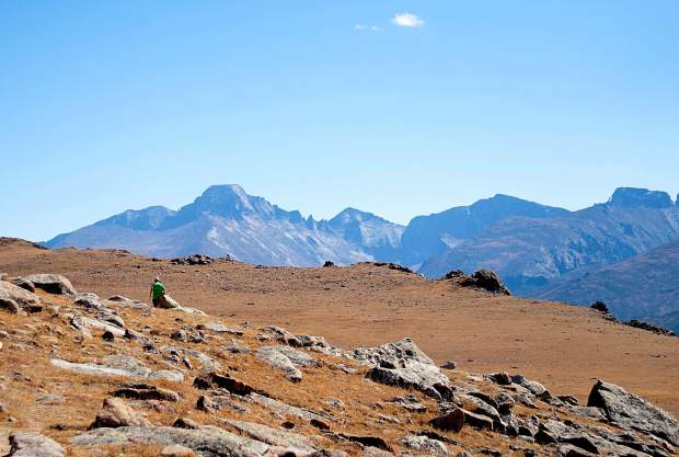The views from a skyrunning trail in Rocky Mountain National Park, found about three hours north of Breckenridge. The park is home to 350 miles of trails and more than 60 peaks higher than 12,000 vertical feet — perfect for training.