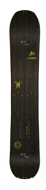 The 2017 Solution splitboard from Jones Snowboards.