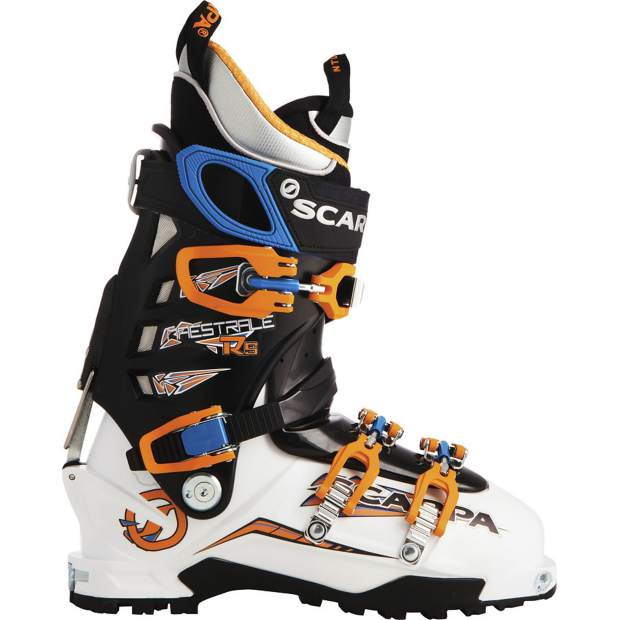 The Scarpa Maestrale RS alpine-touring boot.