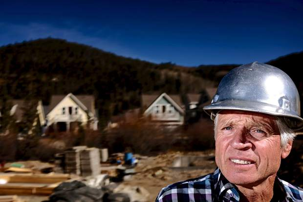 Dan McCrerey, president of Traditional Neighborhood Builders, has lived in Summit County for 44 years. He has constructed upwards of 300 workforce homes in developments such as the Wellington Neighborhood and Lincoln Park in Breckenridge and the Peak One Neighborhood in Frisco.