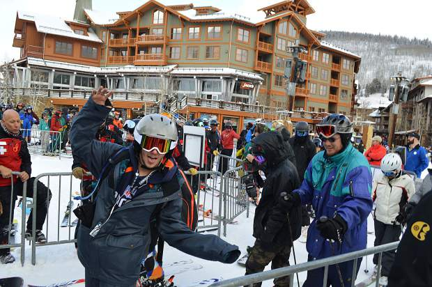 Copper Mountain had a strong showing for its opening day, getting a boost from a snowstorm on Thursday.
