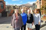 """Members of the Arts Alive Gallery in Breckenridge are collaborating on a show titled, """"Wearable Art — Jewelry and Textiles."""" There will be an opening reception on Saturday, Nov. 12. From left: Yvonne Kuennen, Leslie Hancock, Lin Rosborough and Diane Nims."""