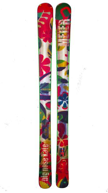 The 2017 Big Nose Kate women's ski from Meier Skis.