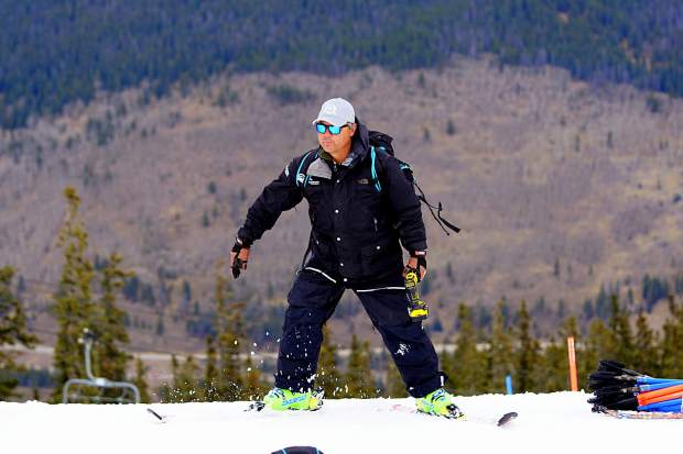 Troy Watts on the snow last season. The new alpine director for Team Summit Colorado has coached at every level, from beginners to pros, and brings a long-term, family-friendly focus to the program.