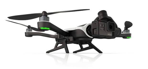 The brand-new Karma drone from GoPro.