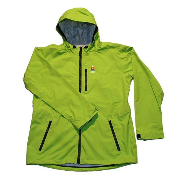The women's Mountain Parka Shell from Freeride Systems of Frisco.