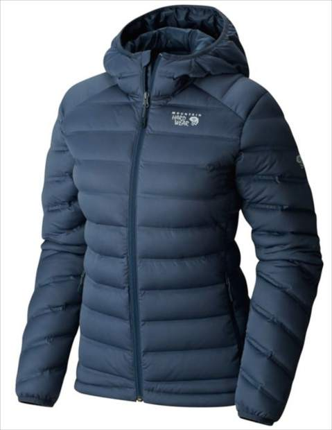 Mountain Hardware StretchDown Hooded Jacket.