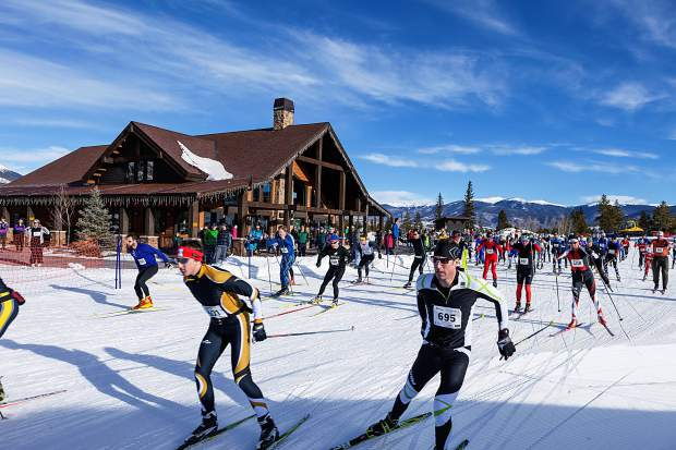 Nordic skiers of all ages and abilities took to the trail network on the Frisco Peninsula last season for the 45th annual Gold Rush Nordic races. The majority of Nordic centers in Summit County are open as of Dec. 1, with more trails to follow with more snowfall.