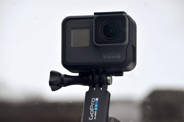 The GoPro Hero 5 Black edition.
