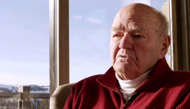 The legend himself, Warren Miller, on screen for the 67th film from his namesake company,