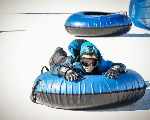 Who needs a hill, when you can just run and body-tube, like this youngster?