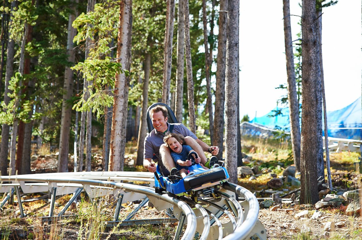 The Breckenridge Summer Fun Park opens for business on June 10 with the alpine slide, mountain coaster and more from 9:30 a.m. to 5:30 p.m. daily. On June 9, the resort invites local's to donate canned food for free entry from 1 p.m. to 3 p.m.