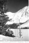 The first is a photo of Edna Dercum, the first woman to ski at Arapahoe Basin.