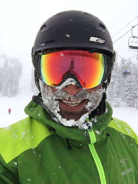 Reader Paul Davis sent this photo from his ski day at Arapahoe Basin Ski Area on Wednesday.