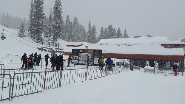 Thursday brought plenty of powder, yet no lift lines at Copper Mountain Resort.