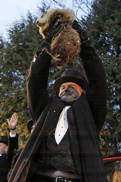 Pennsylvania Groundhog S Handlers Phil Predicts More Winter Summitdaily Com