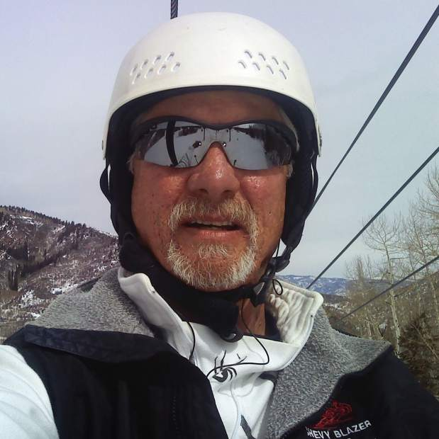 Russ Brown, a Sunlight regular for 45 years, has logged more than 31 days on the slopes already this season.