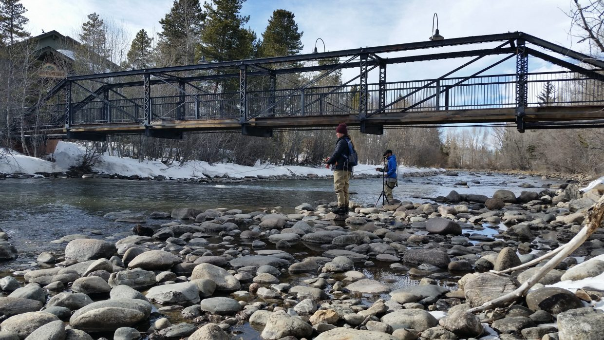 Summit 360 video fly fishing on the blue river in for Breckenridge co fishing