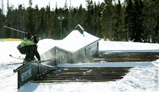 The staircase double-kink rail at Keystone A51.