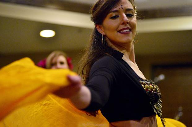 The EveryBelly Dancers perform at the 28th Tim McClure Benefit on Friday, March 10, at the DoubleTree in Breckenridge.