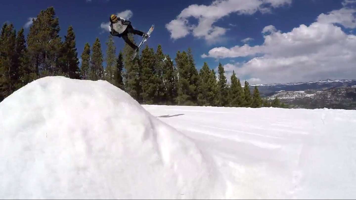 On the Hill video: Spring park laps in Breckenridge and more snow on the way