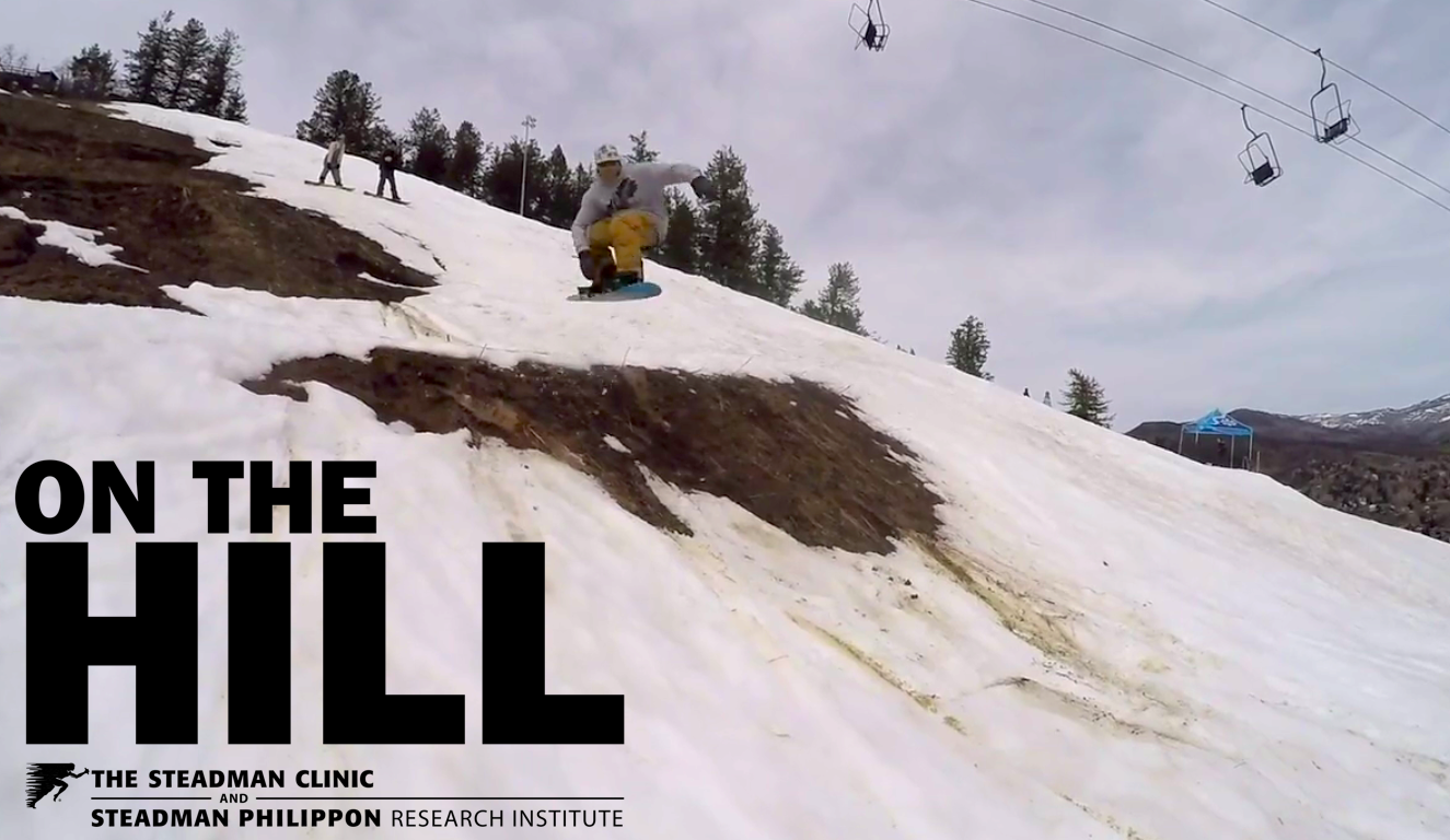 On The Hill: Slush slashin' and dirt jumpin' into an April snowstorm (video)