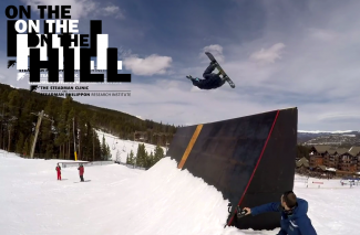 On The Hill: Locals put on a show for spring Breck terrain park edit (video)