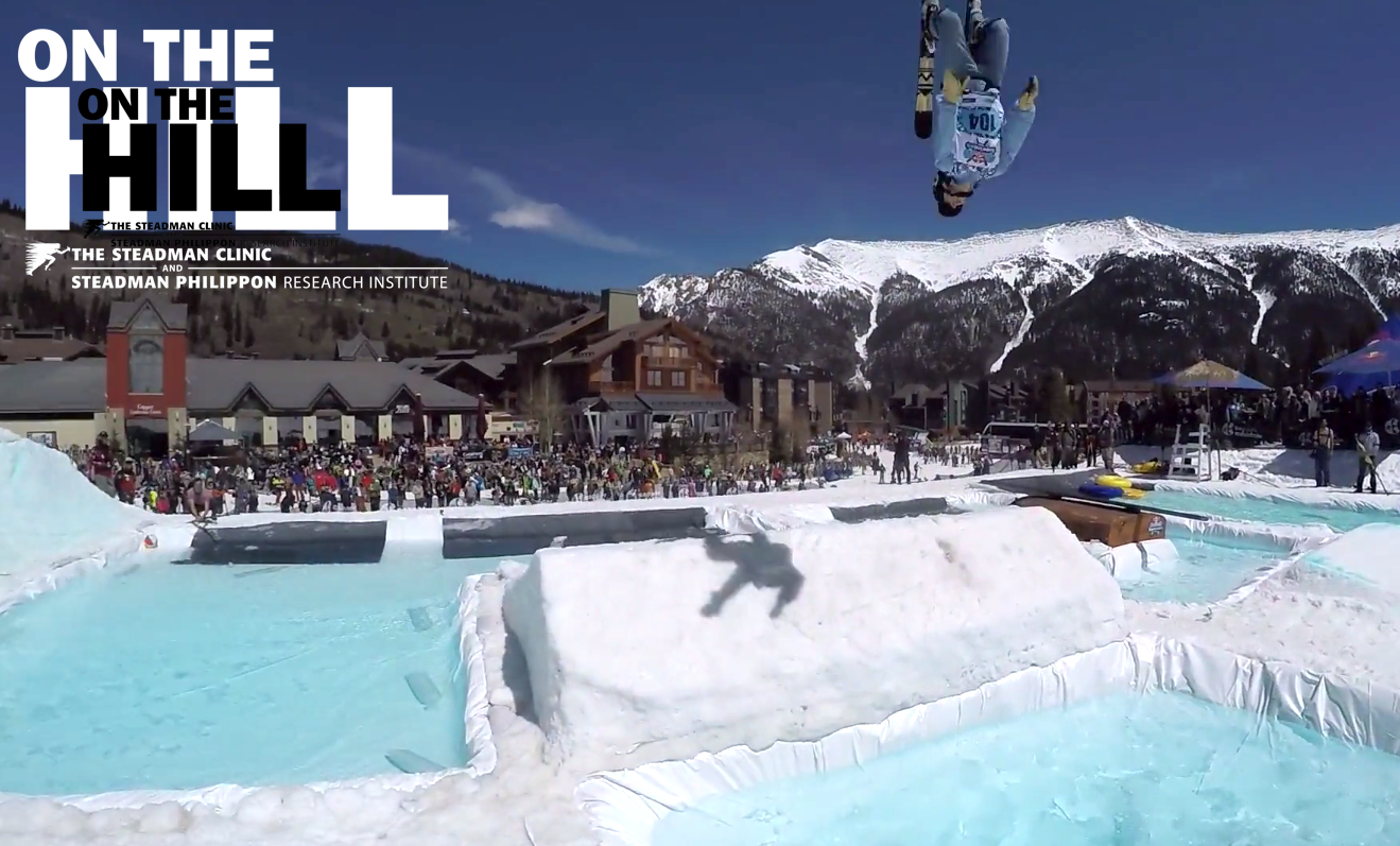 On The Hill: Seth Karlsrud, king of the jungle, in 2017 Red Bull Slopesoakers at Copper edit